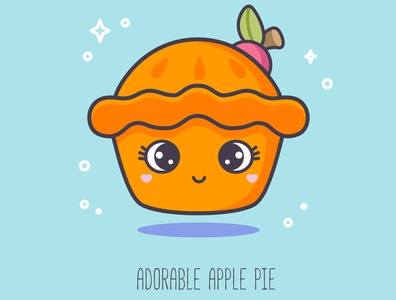 ABC sweets: Adorable Apple Pie