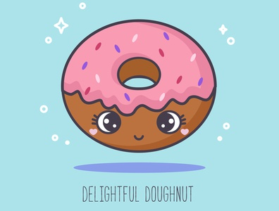 ABC sweets: Delightful Doughnut