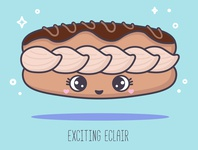 ABC sweets: Exciting Eclair