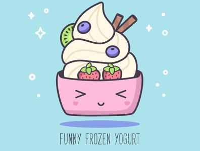 ABC sweets: Funny Frozen Yogurt