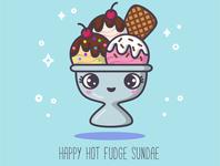 ABC sweets: Happy Hot Fudge Sundae