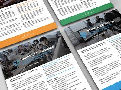 Sales Sheets branding graphic design brand sales sheets graphic design