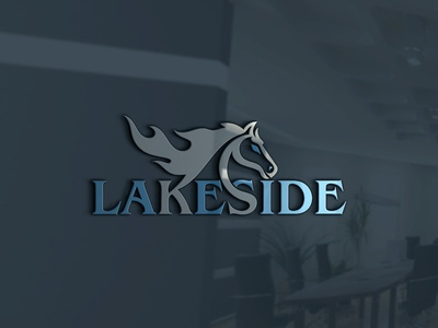 Lakeside logo design