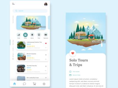 Traveling app