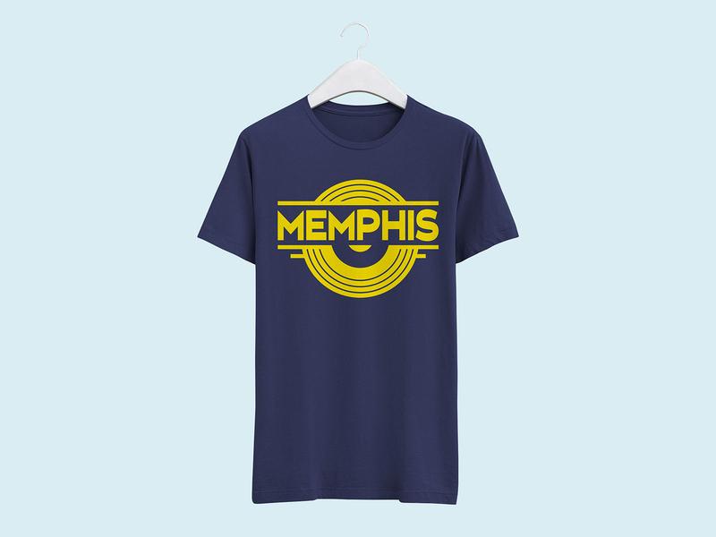 Memphis: Soul of the South - T-shirt Design