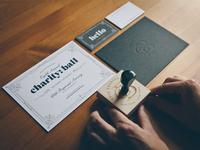 charity: ball invitations