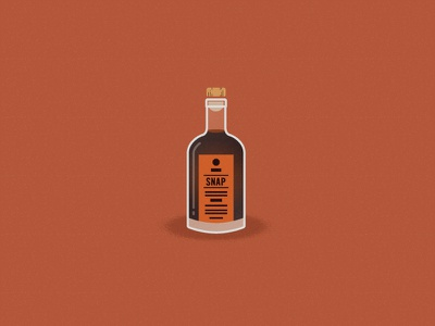 Drink, Drank, Drunk. holidays alcohol liquor illustration snap bottle vector texture art in the age