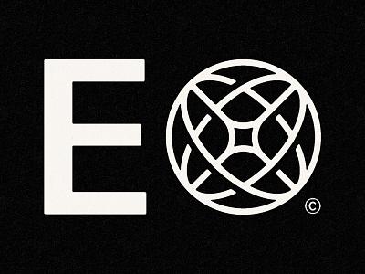 E✴ interconnected x logo globe logo planet 3d stories photography geometric modern icon illustration heart star