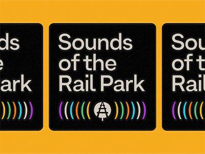 Sounds of the Rail Park audio audio tour vintage illustration philadelphia the rail park podcast art