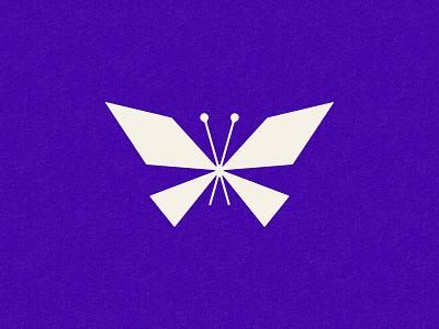 RE/MADE modernist butterfly logo identity branding vector philadelphia illustration