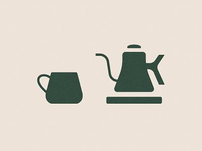 Good Morning philadelphia morning caphe roasters vietnamese kettle mug coffee illustration