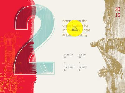 Test print hand lettering duotone illustration monospace typography overlay gold
