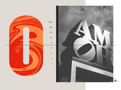 Amor layout sculpture amor philadelphia typography photography editorial