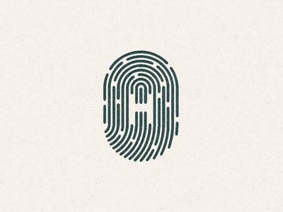 Incredibly Human logo fingerprint identity human