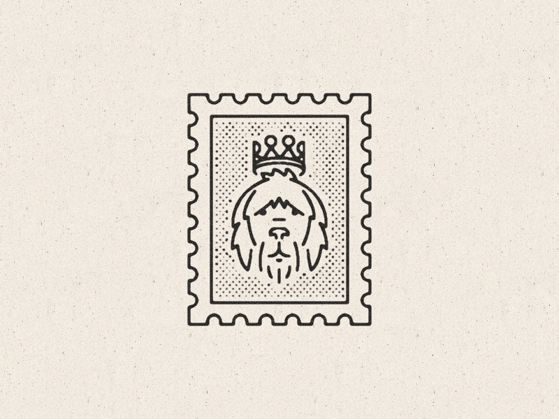 Stamps dribbble