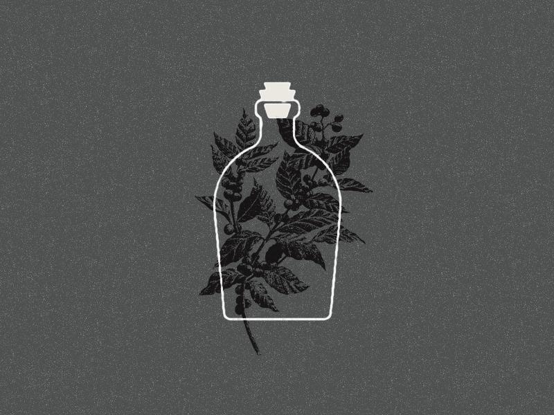 Elixr bottle coffee dribbble