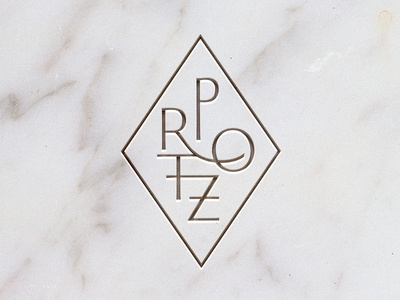 PROTZ roman typography tile marble architecture