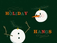 Holiday hangs