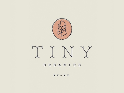 Tiny Organics new york identity branding illustration iconography highchair babies baby food organics tiny typography