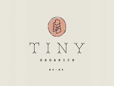 Tiny Organics new york identity branding illustration iconography highchair babies baby food organics tiny typography