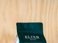 Elixr front wood bkgd