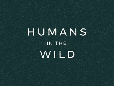 Wild Humans 2.0 nature wild branding visual identity brand identity human ventures human figure flowers venture capital new york city vector illustration typography