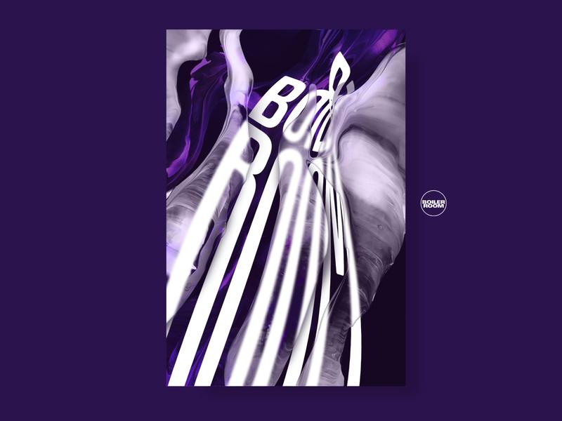 Boiler Room Concept digital 3d collage illustration poster graphic boilerroom