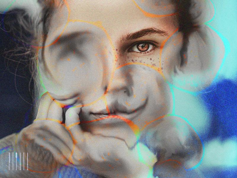 pitaya n.1 graphic design design collage portrait digital art illustration