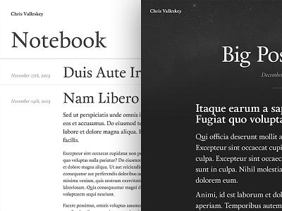 Notebook / Article calendas