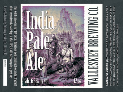 India Pale Ale beer