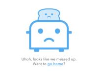 Sad toaster