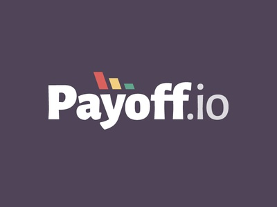 Payoff.io logo loans debt calculator web app