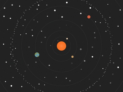 Four Planets space solar system