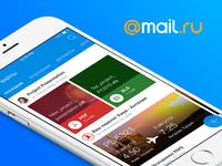 Mail.ru Mobile App Concept