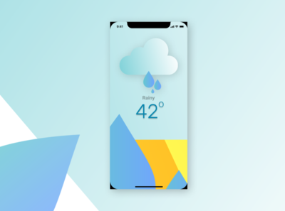 Weather App Design - Part 2 icon logo illustration design app ux design ux uiux ui design ui