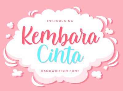 Kembara Cinta Script lettering logotype type web art website illustration vector typography logo design modern calligraphy modern calligraphy font