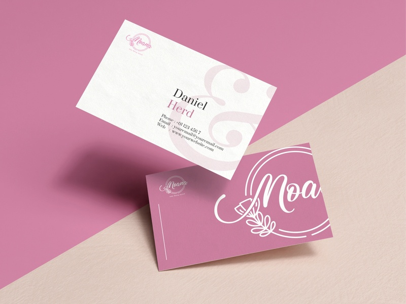 MOANA LOGO DESIGN resume businesswoman happy brand identity logobusines logodesignersclub logo id card design brand logo brand design beauty logo logotype logodesign businessman business