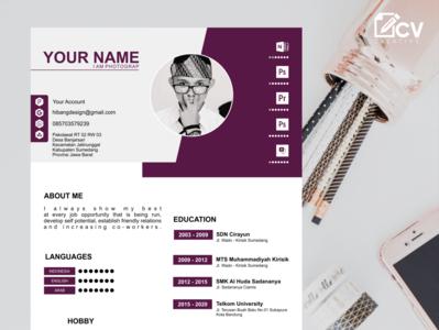 Professional CV resume  design