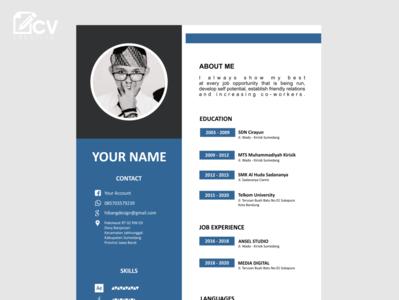 Design CV Attractive job applications
