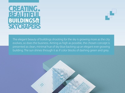 Visual Branding Concept for Companies in Building fields communication branding building shapes visual concept design