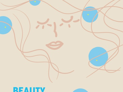 Beauty & Well-being Space - Concept Design product design illustration concept design visual communication branding