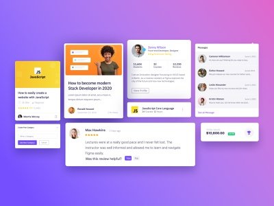 Geeks UI - Courses & Academy Admin Dashboard Design web app learning app kit components productdesign webdesign academic uidesign marketplace online education admin dashboard design system uikit academy courses