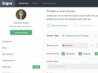 Lingos - Course Creator