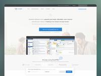 DeskPRO Landing Page