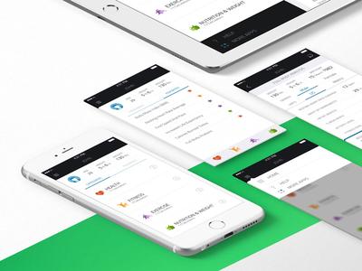 Fitcalc calculator sport fitness health design ui ipad iphone ios app