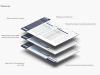 Dashboard/Web app