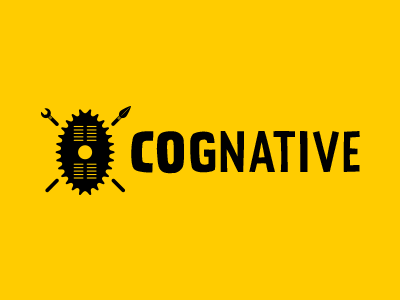 Cognative logo cognative branding identity logo logomark zulu shield african mtb biking prater sans logotype
