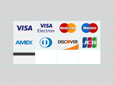 SVG Credit Cards icons svg vector credit cards sprite abobe illustrator icons