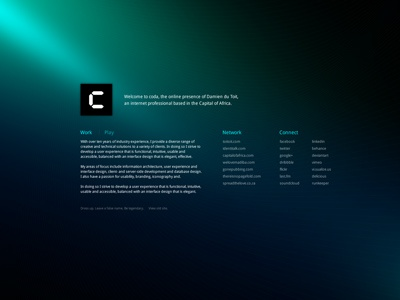 coda one-pager