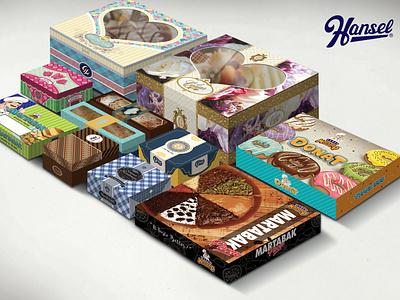 Hansel.id : Percetakan - Packaging Makanan kemasan makanan dus makanan percetakan hansel food packaging packaging design packaging branding illustration design